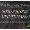 60-minute Massage Gift Certificate
